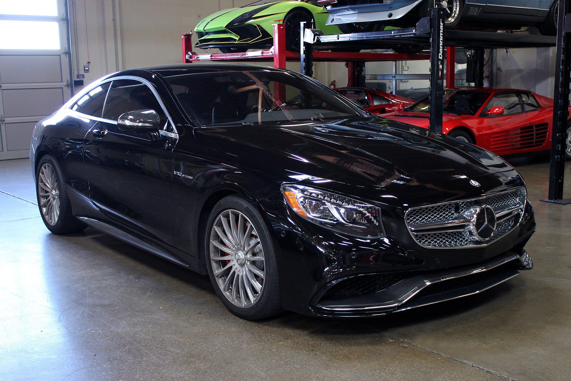 Used 2015 Mercedes-Benz S65 AMG for sale Sold at San Francisco Sports Cars in San Carlos CA 94070 1