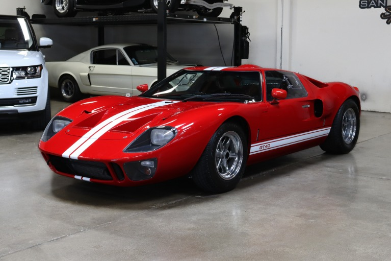 Used 1965 Superformance GT40 MKI for sale $169,995 at San Francisco Sports Cars in San Carlos CA 94070 3