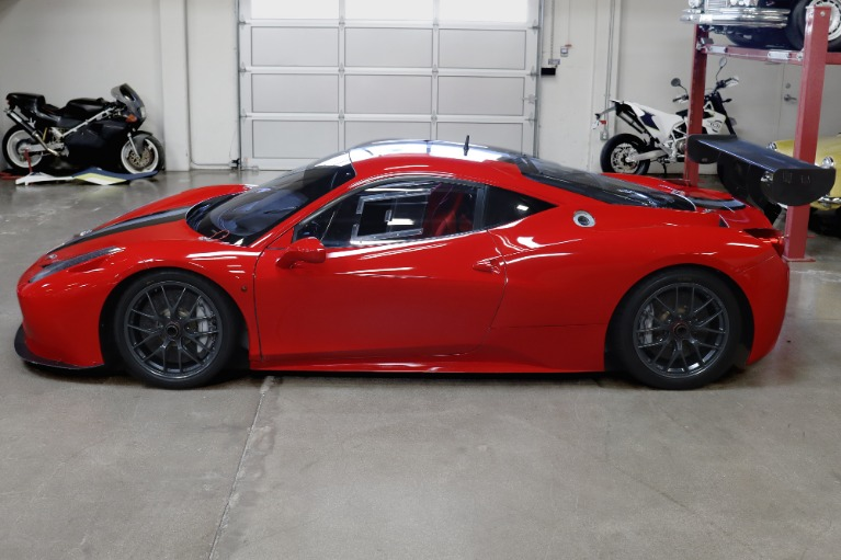 Used 2011 Ferrari 458 Challenge EVO for sale Sold at San Francisco Sports Cars in San Carlos CA 94070 4