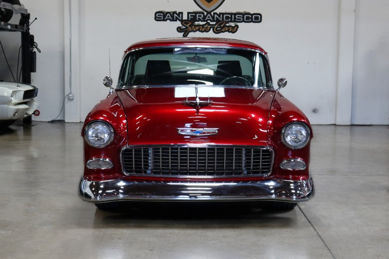 Used 1955 Chevrolet Bel Air Black for sale Sold at San Francisco Sports Cars in San Carlos CA 94070 2