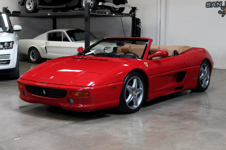 Used 1999 FERRARI 355 F1 SPIDER CONVERTIBLE for sale $69,995 at San Francisco Sports Cars in San Carlos CA 94070 3