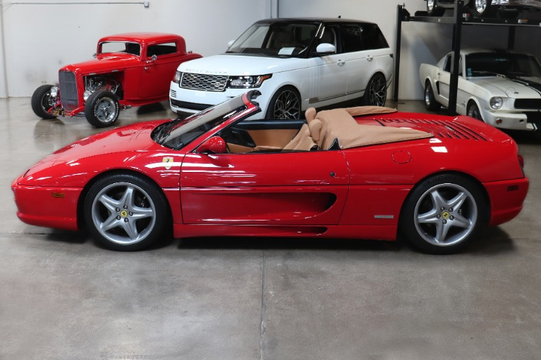 Used 1999 Ferrari 355 F1 Spider CONVERTIBLE for sale Sold at San Francisco Sports Cars in San Carlos CA 94070 4