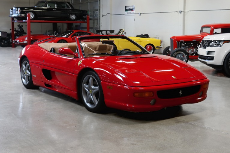 Used 1999 FERRARI 355 F1 SPIDER CONVERTIBLE for sale $69,995 at San Francisco Sports Cars in San Carlos CA 94070 1