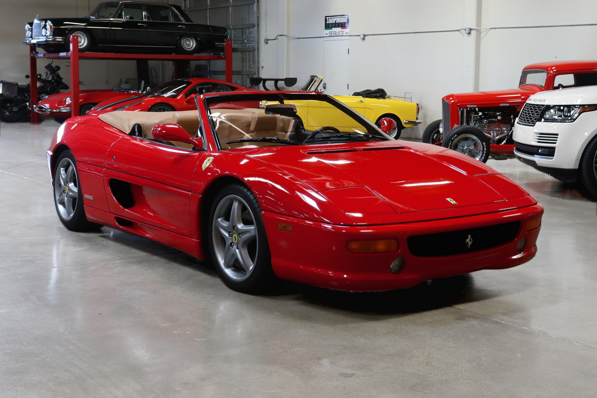 Used 1999 Ferrari 355 F1 Spider CONVERTIBLE for sale Sold at San Francisco Sports Cars in San Carlos CA 94070 1