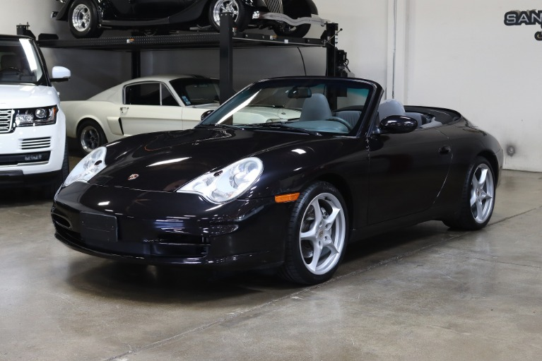 Used 2002 Porsche 911 Carrera 4 Cabriolet for sale Sold at San Francisco Sports Cars in San Carlos CA 94070 3