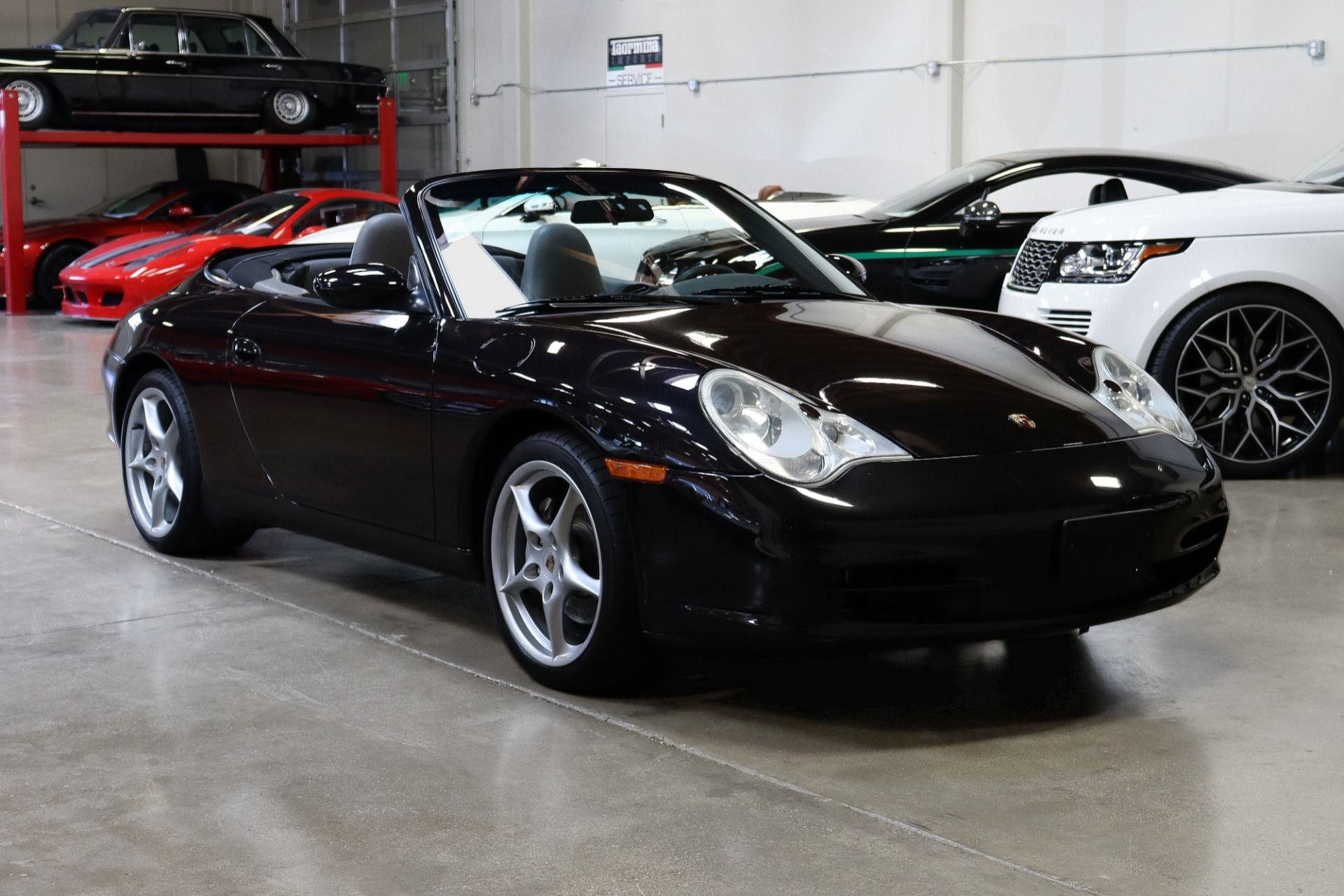 Used 2002 Porsche 911 Carrera 4 Cabriolet for sale Sold at San Francisco Sports Cars in San Carlos CA 94070 1