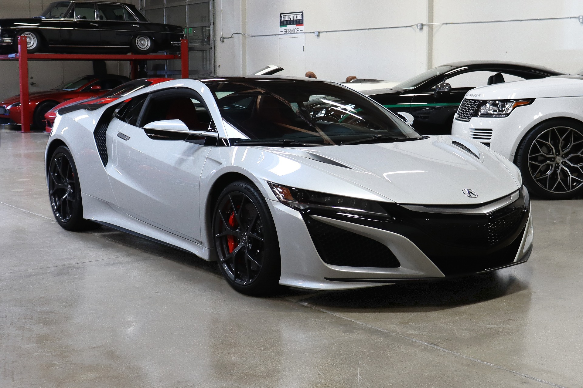 Used 2018 Acura NSX SH-AWD Sport Hybrid for sale Sold at San Francisco Sports Cars in San Carlos CA 94070 1