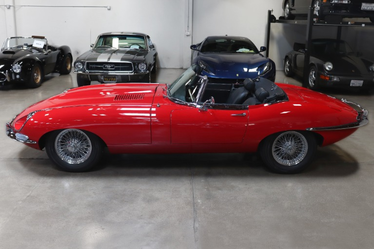 Used 1968 Jaguar E-Type Series 1 1/2 4.2 OTS for sale $99,995 at San Francisco Sports Cars in San Carlos CA 94070 4