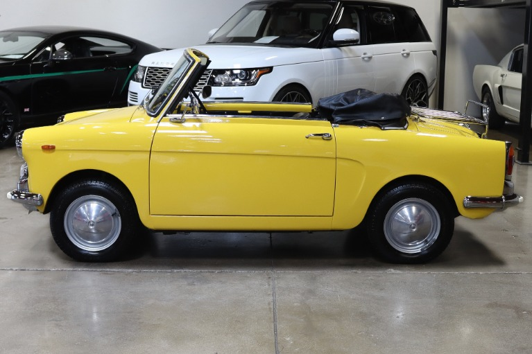 Used 1965 AUTOBIANCHI EDEN ROC for sale Sold at San Francisco Sports Cars in San Carlos CA 94070 4