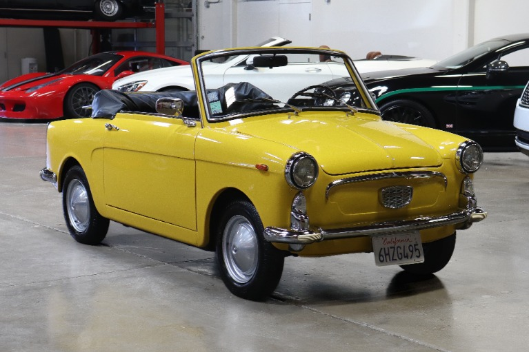 Used 1965 AUTOBIANCHI EDEN ROC for sale Sold at San Francisco Sports Cars in San Carlos CA 94070 1