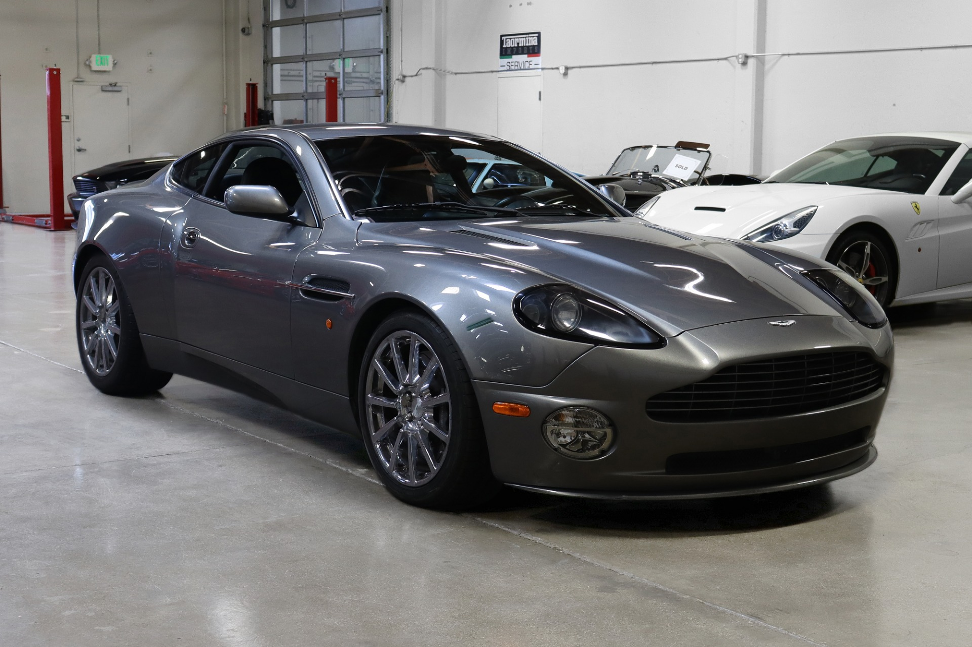 Used 2005 Aston Martin V12 Vanquish S for sale $84,995 at San Francisco Sports Cars in San Carlos CA 94070 1
