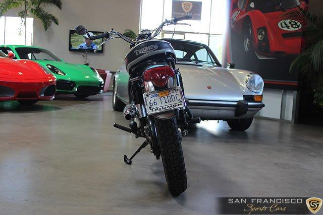 Used 1966 Triumph T100C Motorcycle for sale Sold at San Francisco Sports Cars in San Carlos CA 94070 3