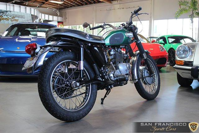 Used 1966 Triumph T100C Motorcycle for sale Sold at San Francisco Sports Cars in San Carlos CA 94070 4