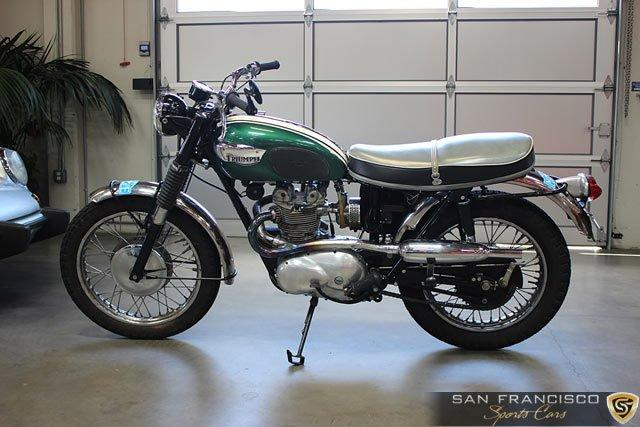 Used 1966 Triumph T100C Motorcycle for sale Sold at San Francisco Sports Cars in San Carlos CA 94070 1