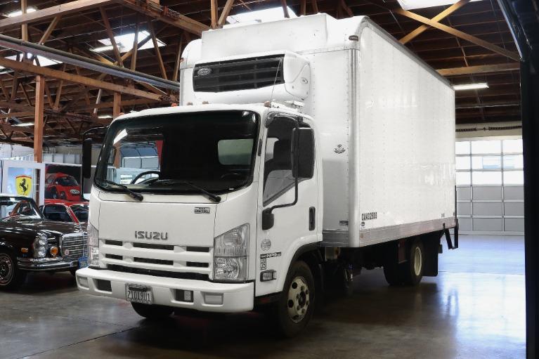 Used 2014 Isuzu NPR-HD 16 foot Box Van for sale $39,995 at San Francisco Sports Cars in San Carlos CA 94070 3