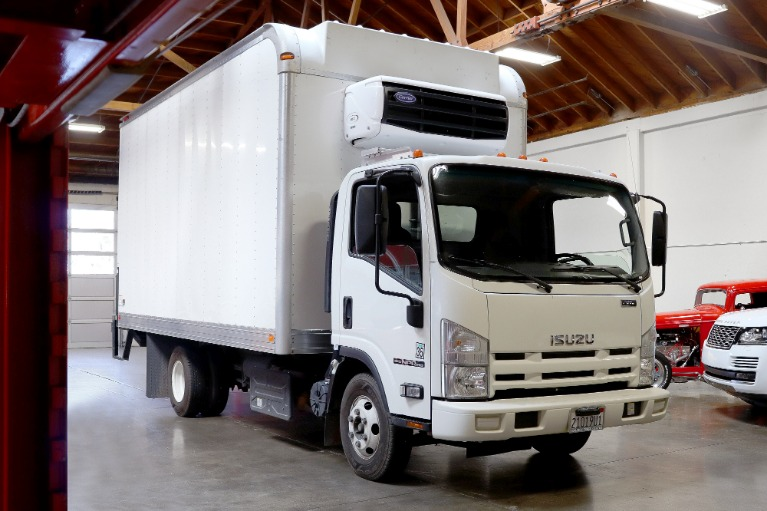 Used 2014 Isuzu NPR-HD 16 foot Box Van for sale $39,995 at San Francisco Sports Cars in San Carlos CA 94070 1