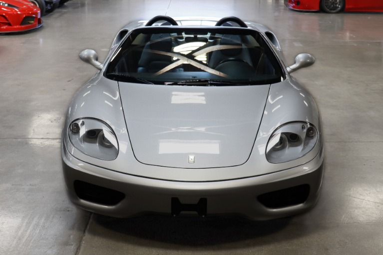 Used 2003 Ferrari 360 Spider for sale Sold at San Francisco Sports Cars in San Carlos CA 94070 2