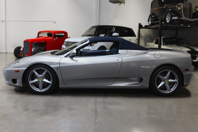 Used 2003 Ferrari 360 Spider for sale Sold at San Francisco Sports Cars in San Carlos CA 94070 4