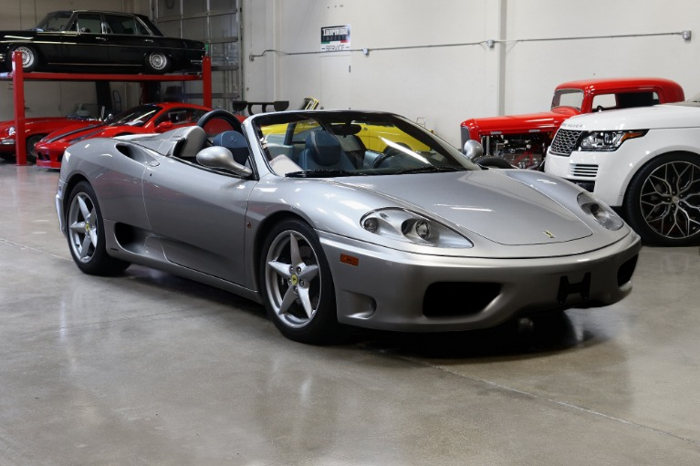 Used 2003 Ferrari 360 Spider for sale Sold at San Francisco Sports Cars in San Carlos CA 94070 1