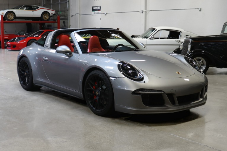 Used 2016 Porsche 911 Targa 4 GTS for sale Sold at San Francisco Sports Cars in San Carlos CA 94070 1