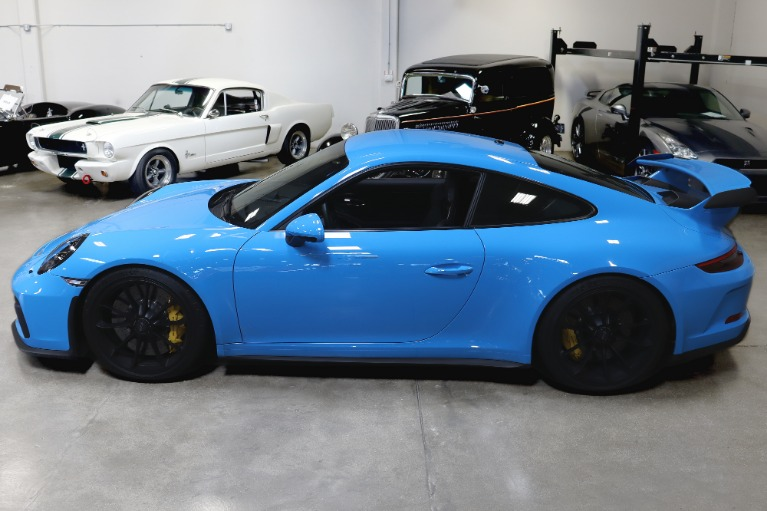 Used 2018 Porsche 911 GT3 for sale Sold at San Francisco Sports Cars in San Carlos CA 94070 4