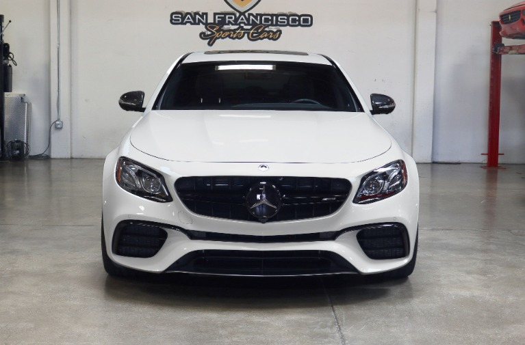 Used 2019 Mercedes-Benz AMG E63 S AMG E 63 S for sale Sold at San Francisco Sports Cars in San Carlos CA 94070 2