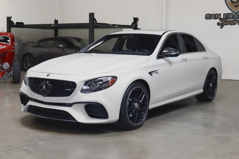 Used 2019 Mercedes-Benz AMG E63 S AMG E 63 S for sale Sold at San Francisco Sports Cars in San Carlos CA 94070 3