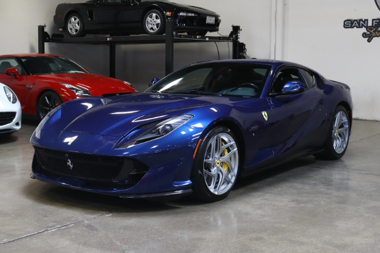 Used 2018 Ferrari 812 Superfast for sale $289,995 at San Francisco Sports Cars in San Carlos CA 94070 3