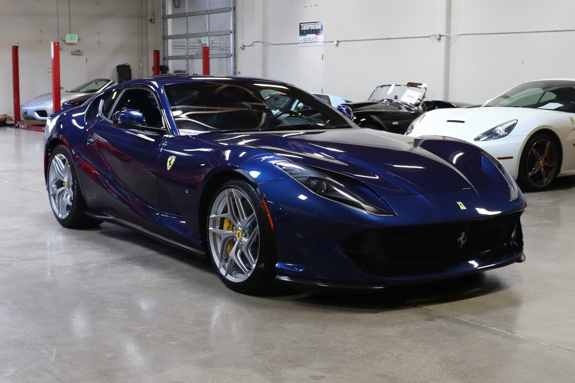 Used 2018 Ferrari 812 Superfast for sale $289,995 at San Francisco Sports Cars in San Carlos CA 94070 1