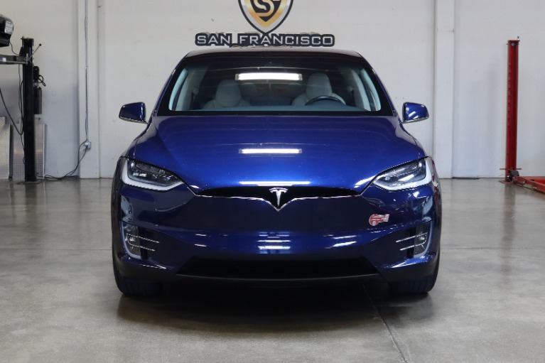 Used 2018 Tesla Model X 75D 75D for sale $63,995 at San Francisco Sports Cars in San Carlos CA 94070 2