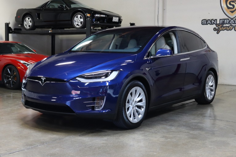 Used 2018 Tesla Model X 75D 75D for sale $63,995 at San Francisco Sports Cars in San Carlos CA 94070 3