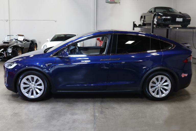 Used 2018 Tesla Model X 75D 75D for sale $63,995 at San Francisco Sports Cars in San Carlos CA 94070 4