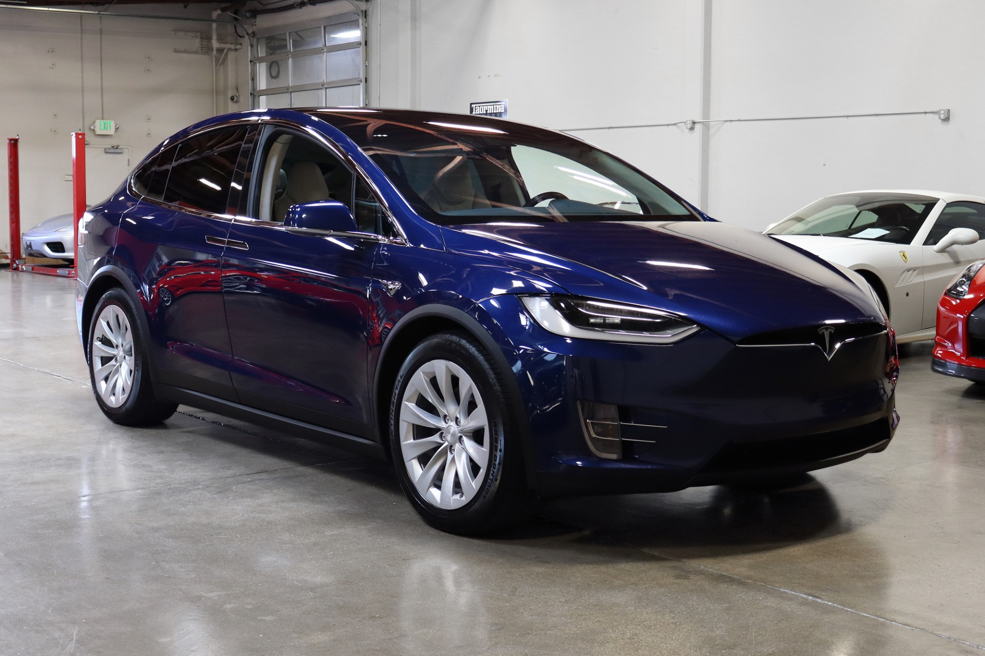 Used 2018 Tesla Model X 75D 75D for sale $63,995 at San Francisco Sports Cars in San Carlos CA 94070 1