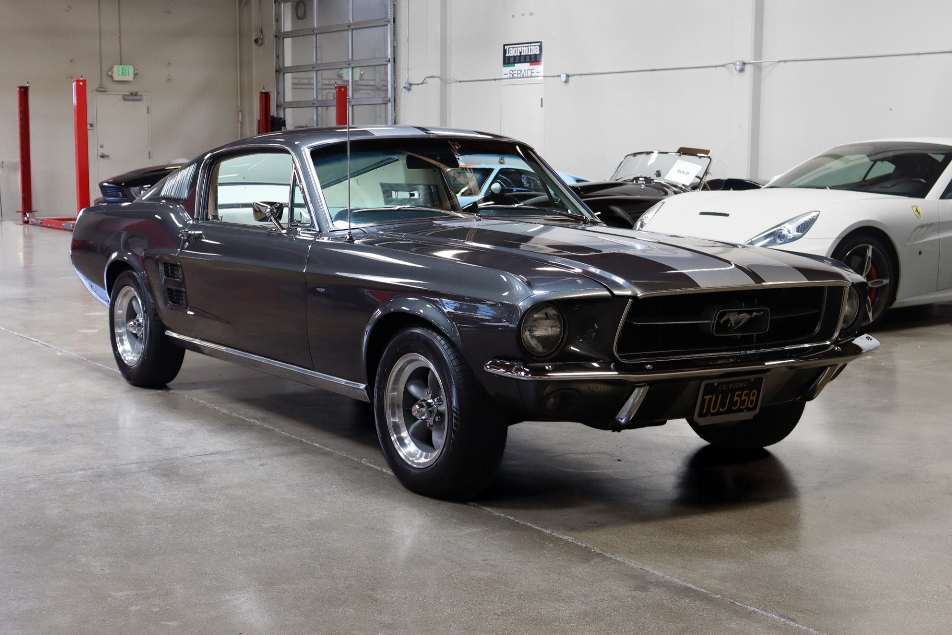 Used 1967 Ford Mustang Fastback for sale Sold at San Francisco Sports Cars in San Carlos CA 94070 1