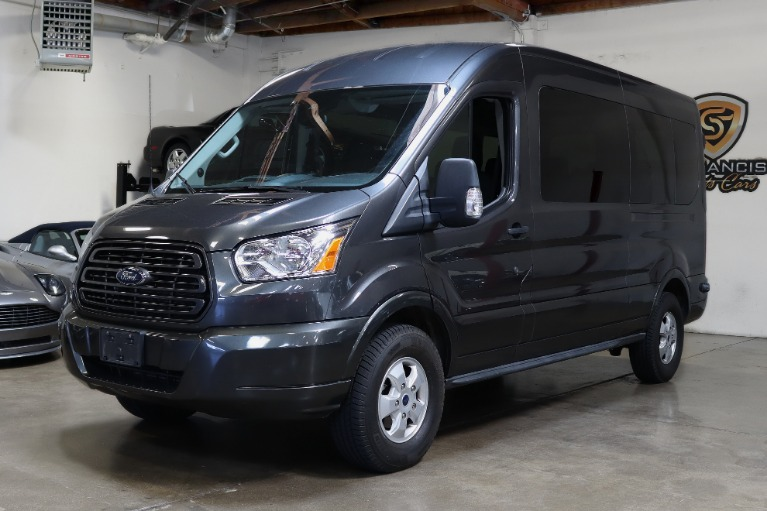 Used 2017 Ford Transit Passenger for sale Sold at San Francisco Sports Cars in San Carlos CA 94070 3
