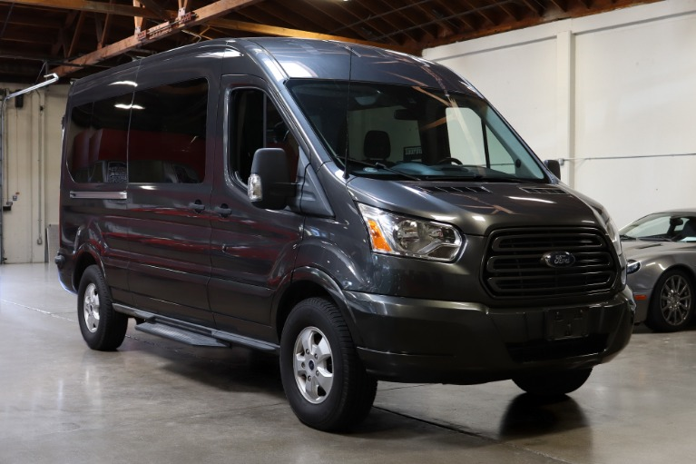 Used 2017 Ford Transit Passenger for sale Sold at San Francisco Sports Cars in San Carlos CA 94070 1