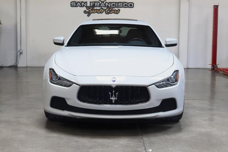 Used 2017 Maserati Ghibli for sale Sold at San Francisco Sports Cars in San Carlos CA 94070 2