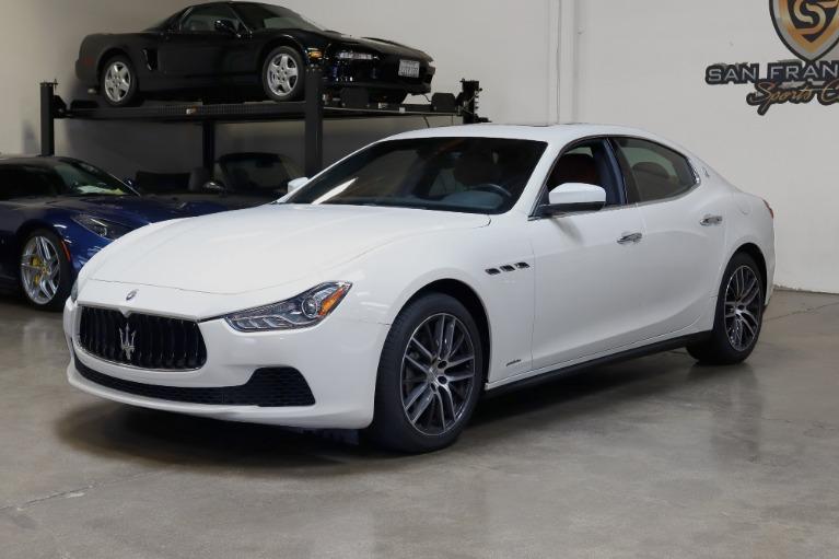 Used 2017 Maserati Ghibli for sale Sold at San Francisco Sports Cars in San Carlos CA 94070 3