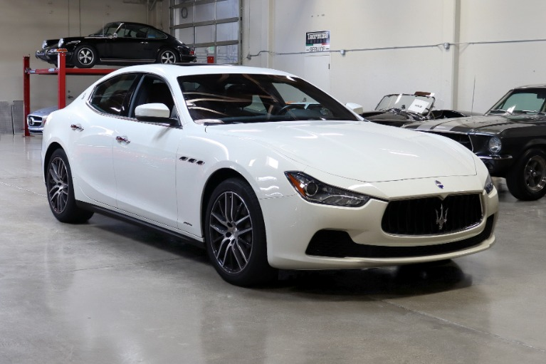 Used 2017 Maserati Ghibli for sale Sold at San Francisco Sports Cars in San Carlos CA 94070 1