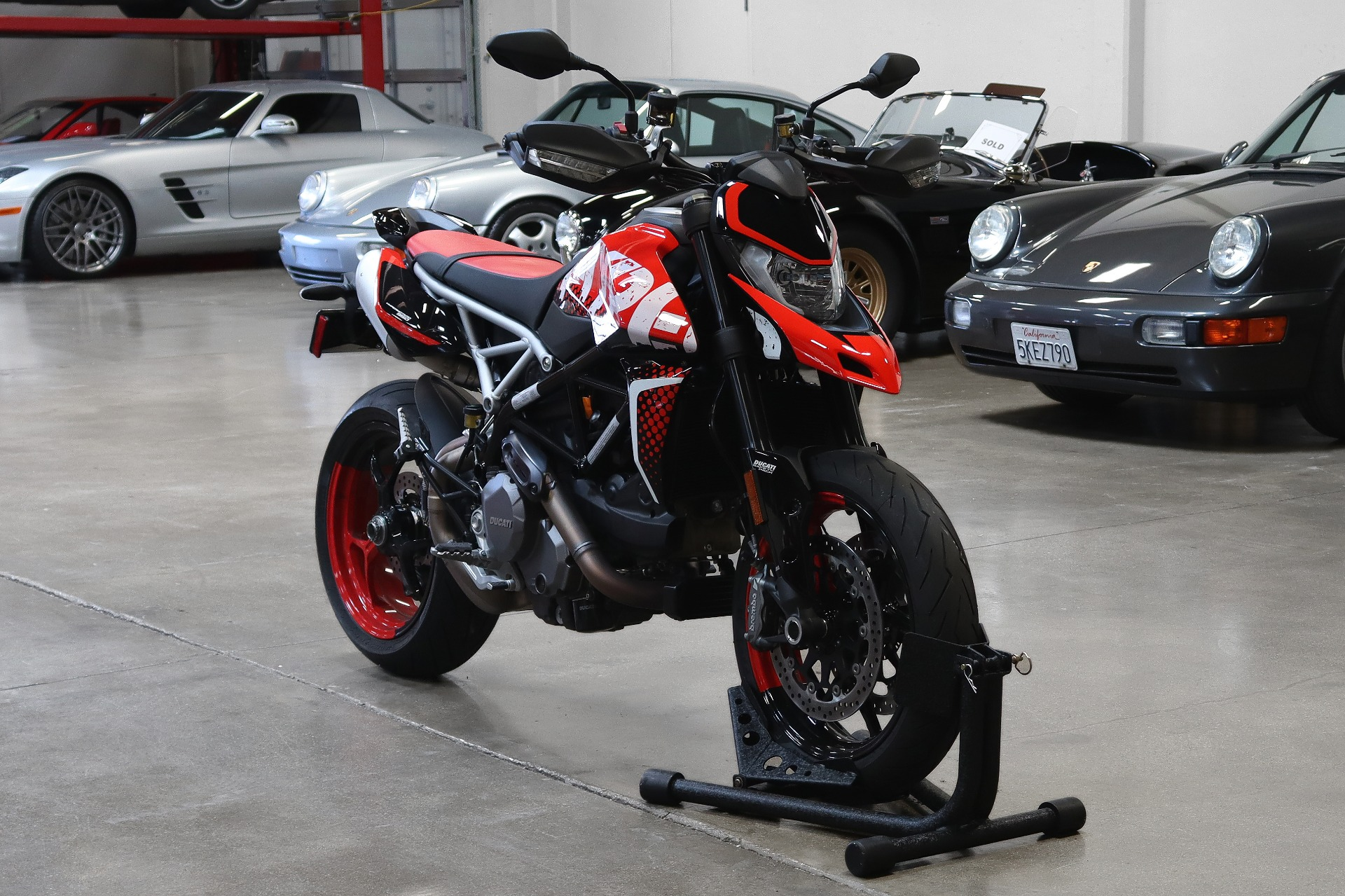 Used 2021 DUCATI Hypermotard RVE for sale $14,995 at San Francisco Sports Cars in San Carlos CA 94070 1