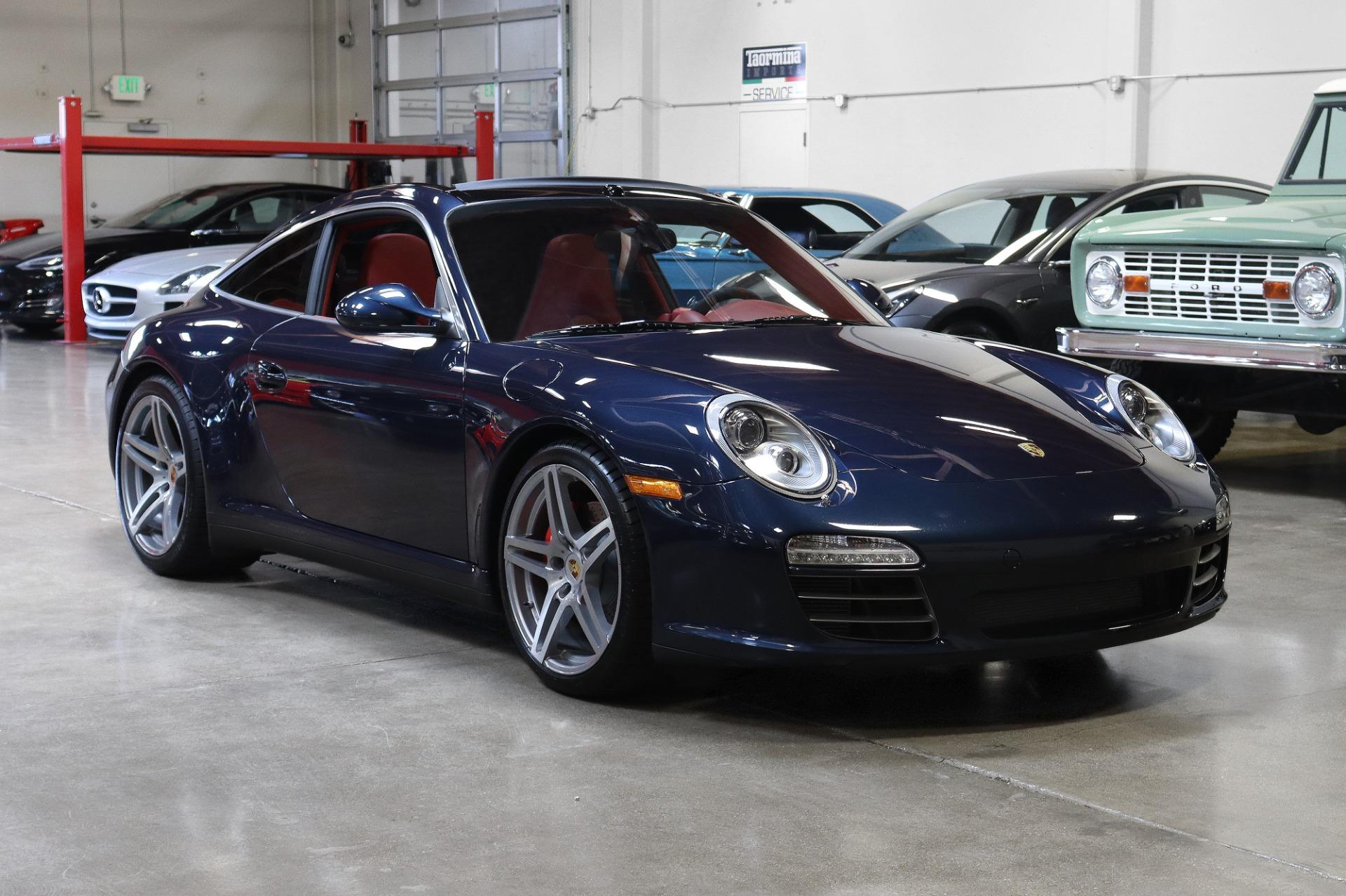 Used 2012 Porsche 911 Targa 4S for sale $103,995 at San Francisco Sports Cars in San Carlos CA 94070 1