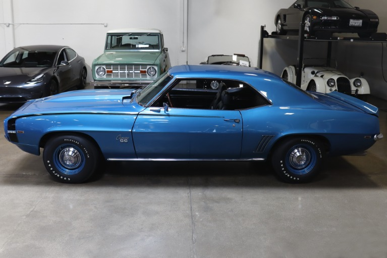 Used 1969 Chevrolet Camaro SS for sale Sold at San Francisco Sports Cars in San Carlos CA 94070 4