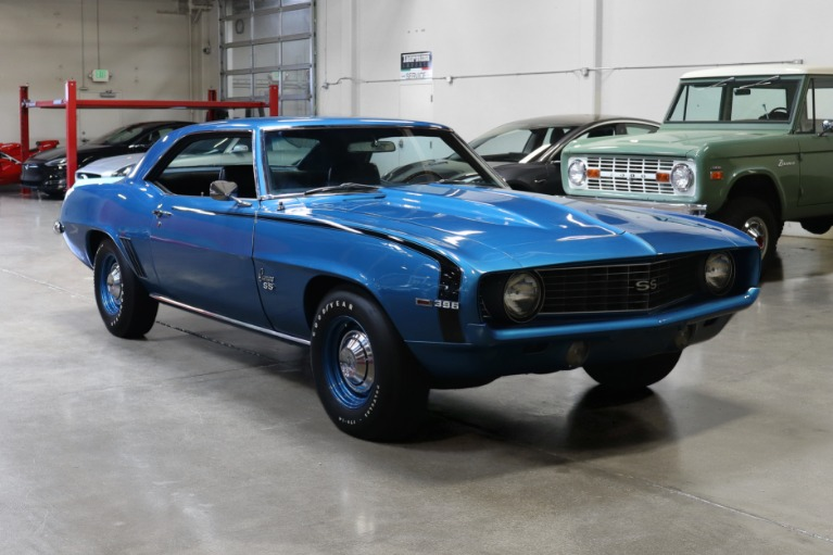 Used 1969 Chevrolet Camaro SS for sale Sold at San Francisco Sports Cars in San Carlos CA 94070 1