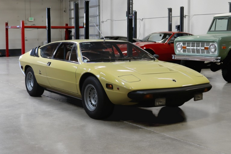 Used 1975 Lamborghini Urraco for sale Call for price at San Francisco Sports Cars in San Carlos CA