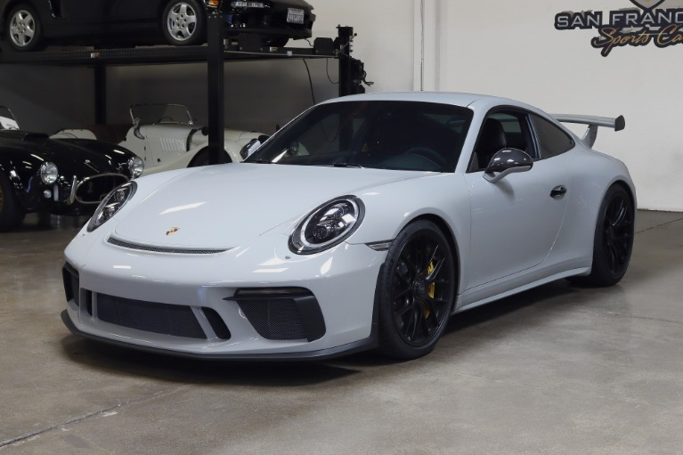 Used 2018 Porsche 911 GT3 for sale Sold at San Francisco Sports Cars in San Carlos CA 94070 3