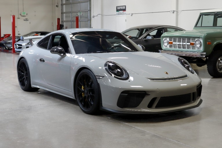 Used 2018 Porsche 911 GT3 for sale Sold at San Francisco Sports Cars in San Carlos CA 94070 1