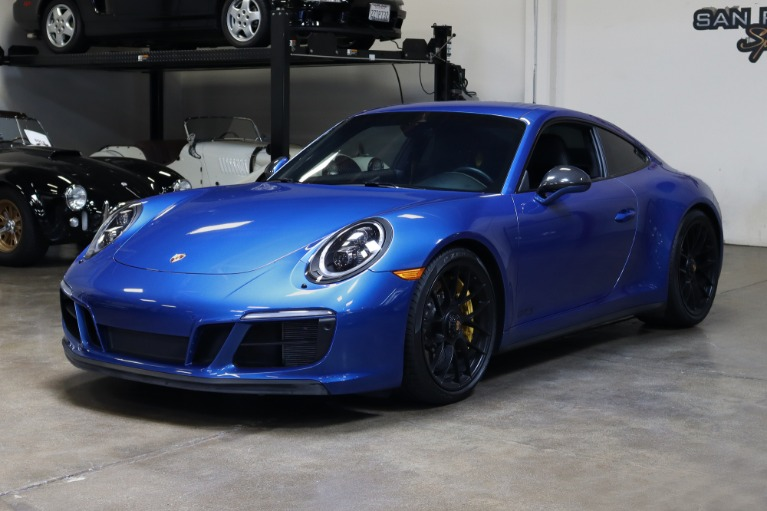 Used 2018 Porsche 911 Carrera 4 GTS for sale $138,995 at San Francisco Sports Cars in San Carlos CA 94070 3