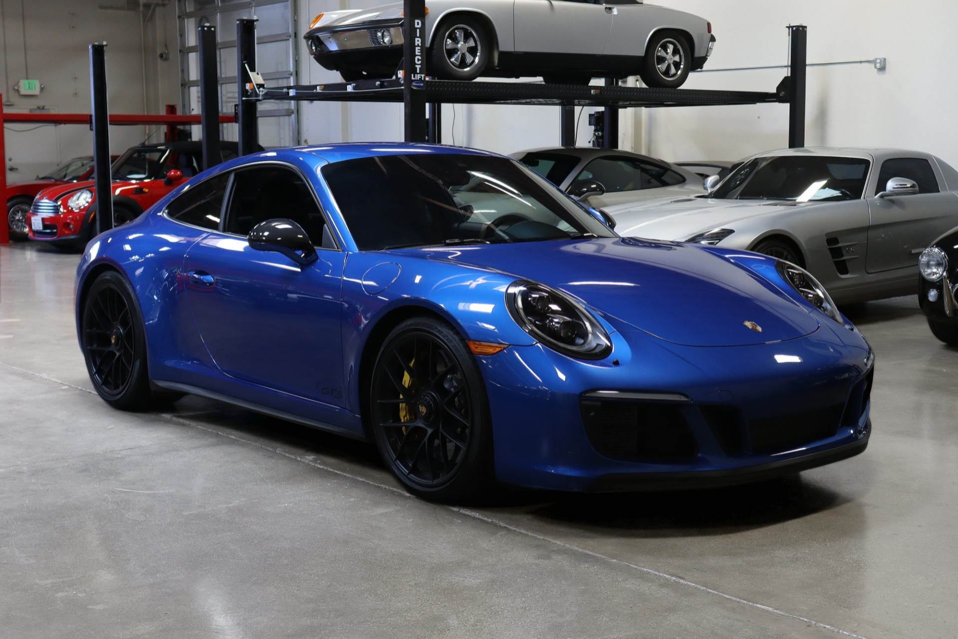 Used 2018 Porsche 911 Carrera 4 GTS for sale $138,995 at San Francisco Sports Cars in San Carlos CA 94070 1