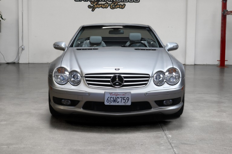 Used 2003 Mercedes-Benz SL55 AMG for sale Sold at San Francisco Sports Cars in San Carlos CA 94070 2