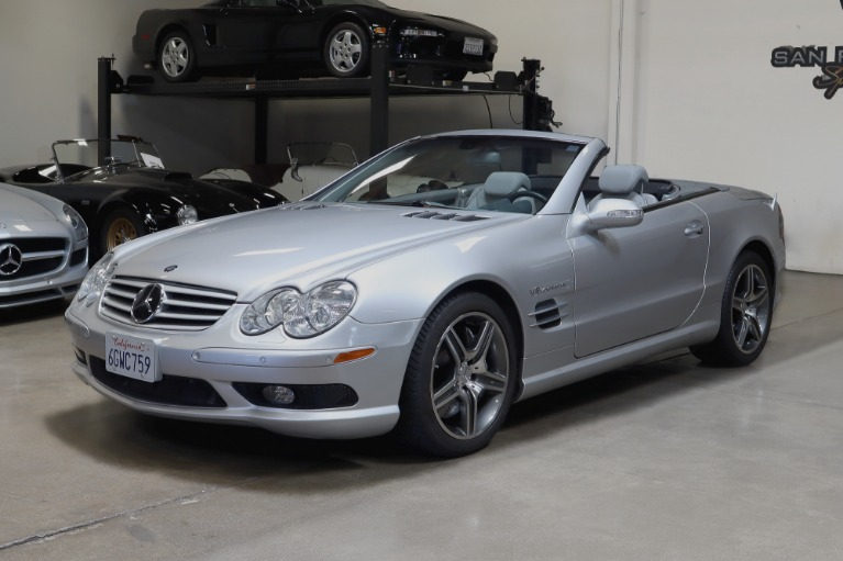 Used 2003 Mercedes-Benz SL55 AMG for sale Sold at San Francisco Sports Cars in San Carlos CA 94070 3